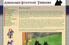 Ayrshire Scottish Terriers web site