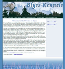 Blyss Kennels - borzoi in NJ