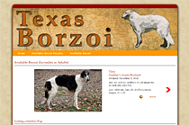 Texas Borzoi - satellite site for Gryffyn's Aeyrie Borzoi