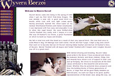 Wyvern Borzoi web site